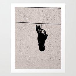The Shoeline Art Print