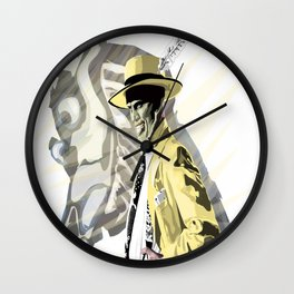 The Mask of Loki Wall Clock