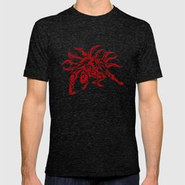 Kurama Tribal Red T-shirt