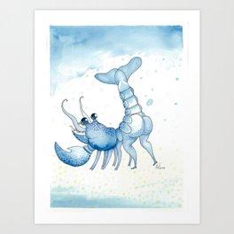 Lobstass Art Print