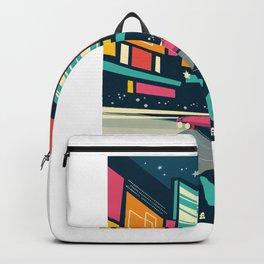Las vegas vintage mode Backpack