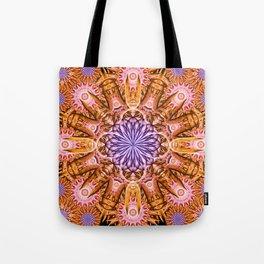 Nucleus Mandala Tote Bag