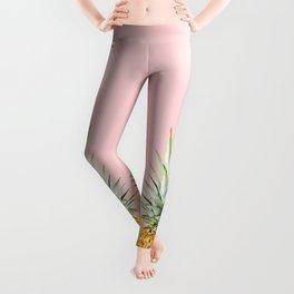 queen pineapple Leggings