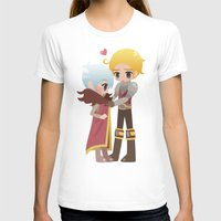 dragon age inquisition T-shirts featuring Dragon Age - Cullen and Trevelyan by Choco-Minto
