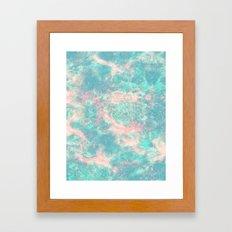 Ocean Foam Framed Art Print