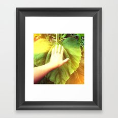 we felt like ants Framed Art Print