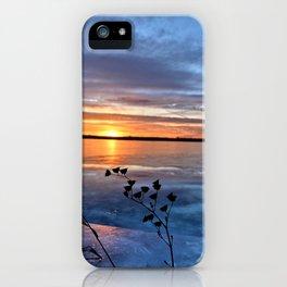 Late Autumn Sun iPhone Case