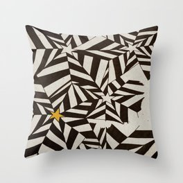 The Rising Star Throw Pillow