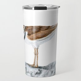 Killdeer Art 1 by Teresa Thompson Travel Mug