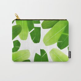 Banana leafs pattern iPhone 4 4s 5 5c 6 7, pillow case, mugs and tshirt Carry-All Pouch