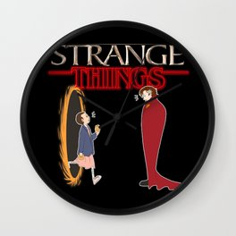 Doctor Strange x Stranger Things Wall Clock
