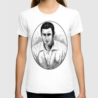 snl T-shirts featuring DARK COMEDIANS: Adam Sandler by Zombie Rust