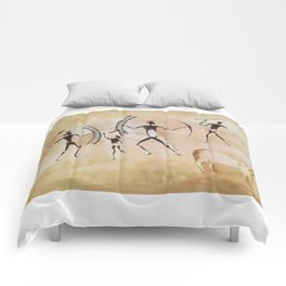 Cave art / Cave painting Comforters