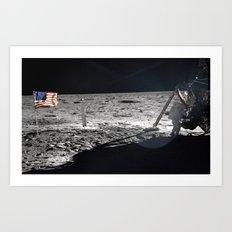 Neil Armstrong Art Print