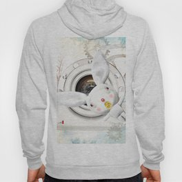 Times and Time rabbits Hoody