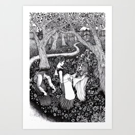 Come Here and Be Loved / Rapunzel Art Print