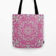 Mandala Geometric Flower G414 Tote Bag