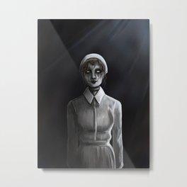 Ghost Nurse Metal Print