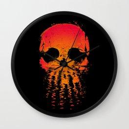 Skullset Wall Clock