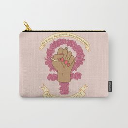 Femme Is Not Fragile Carry-All Pouch