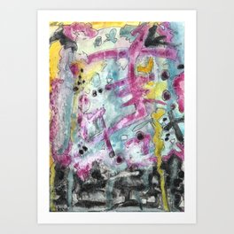 Abstract Art - Moving Art Print
