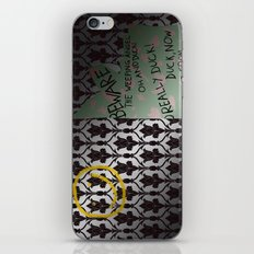 221 Beware iPhone & iPod Skin