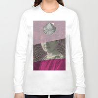 audrey Long Sleeve T-shirts featuring Audrey by Naomi Vona