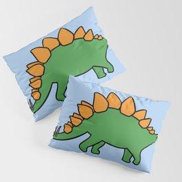Cute Stegosaurus Pillow Sham