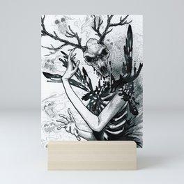 Skull Mage Mini Art Print