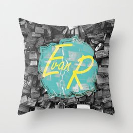 Evan Rivas Design Locks Throw Pillow