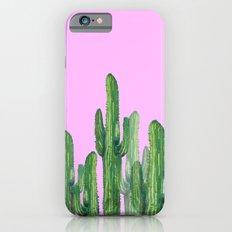 cactus 4 pink Slim Case iPhone 6s