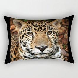 Belizean Jaguar Photograph Rectangular Pillow