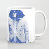 suit Mugs featuring Suit by fashionistheonlycure