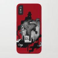dramatical murder iPhone & iPod Cases featuring Murder by Iribú