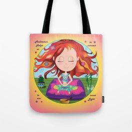 Meditation Om Zen Tote Bag