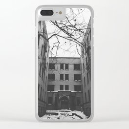 Somber Winter Clear iPhone Case