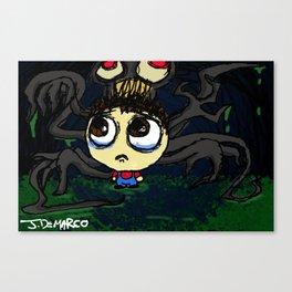 """Little Boy, Big World"" Canvas Print"