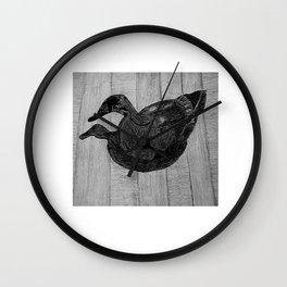 Rotorua Park Duck Wall Clock