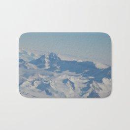 Antartic Mountain Range Bath Mat