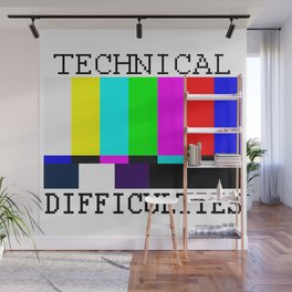 Technical Difficulties Wall Mural