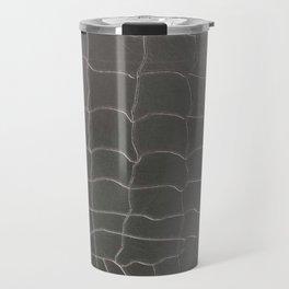 Crocodile silver skin Travel Mug