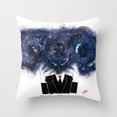 The Vastness of the Mind Throw Pillow