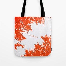 Night's Sky Persimmon Tote Bag