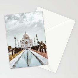 Taj Mahal in India Stationery Cards