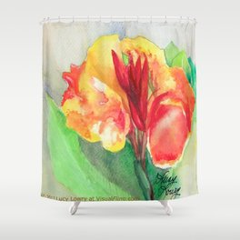 A Canna Can Survive Shower Curtain