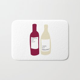 Love wine Bath Mat