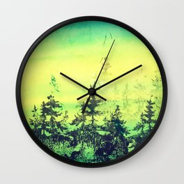 Resting Season Wall Clock