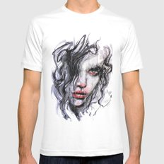 Your silence is complicity Mens Fitted Tee MEDIUM White