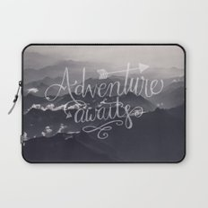 Adventure awaits - go for it! Laptop Sleeve