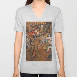 The triumph of Death Unisex V-Neck